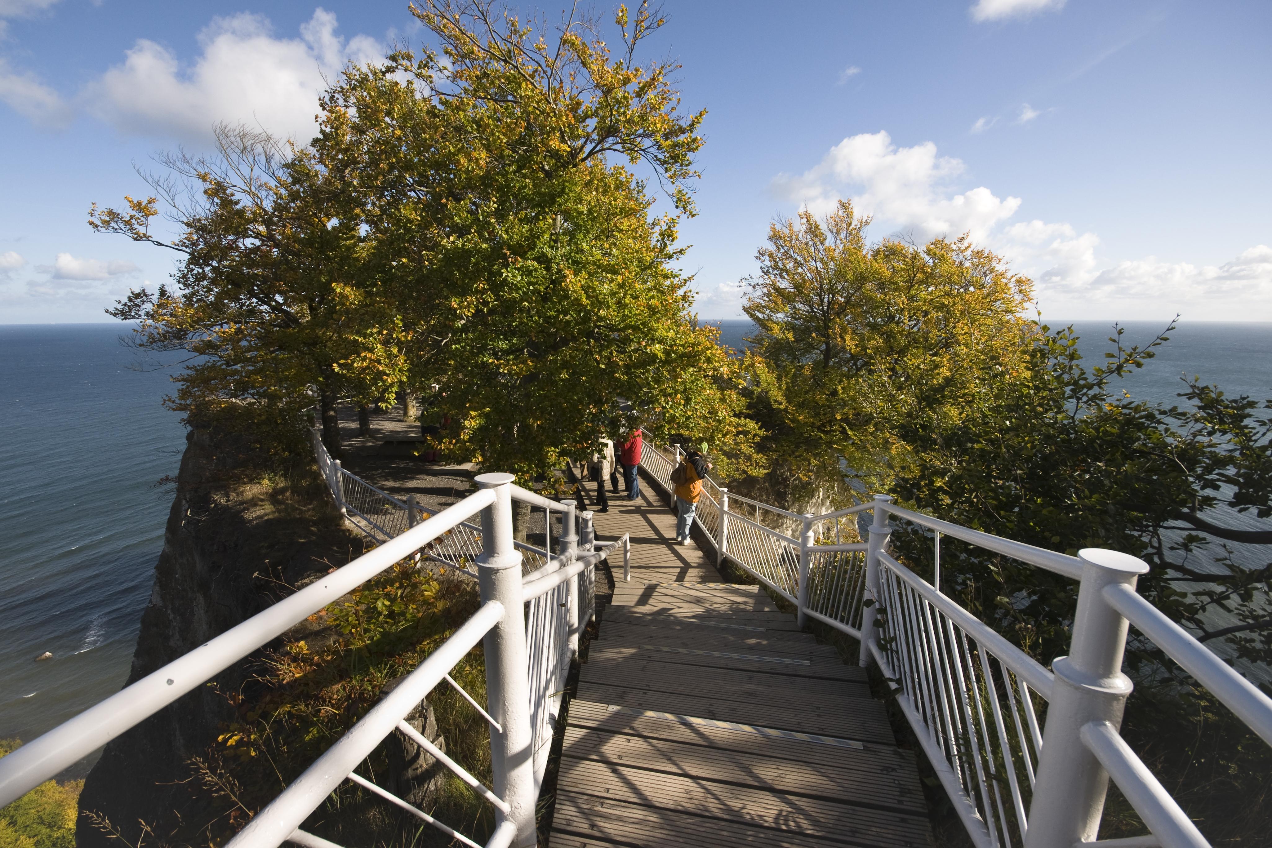 Königsstuhl Rügen Treppe