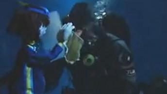 Jacques und der Taucher vom Ozeaneum