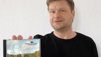 Ralf Lindemann mit seiner CD Sagenballaden