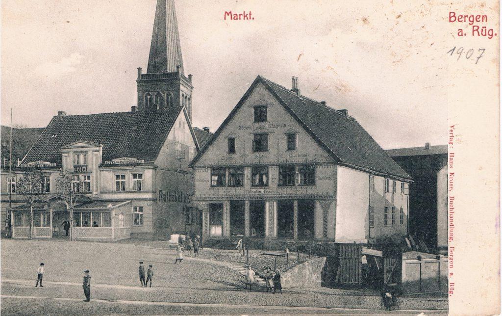 1. Alte Landvogtei um 1907