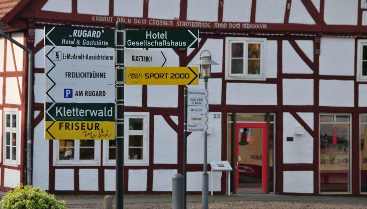 Das Benedixsche Haus in Bergen auf Rügen