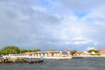 Eine schwebende Promenade: die Wieker Kreidebrücke wurde saniert