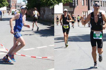 Außergewöhnliche Athleten beim Strandräuber IRONMAN 70.3 Rügen