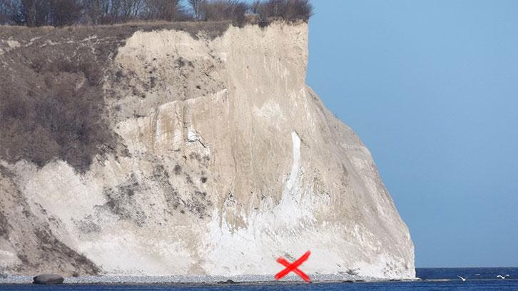 Sensationeller archäologischer Fund am Kap Arkona: das verschollene Svantevit-Ei konnte geborgen werden