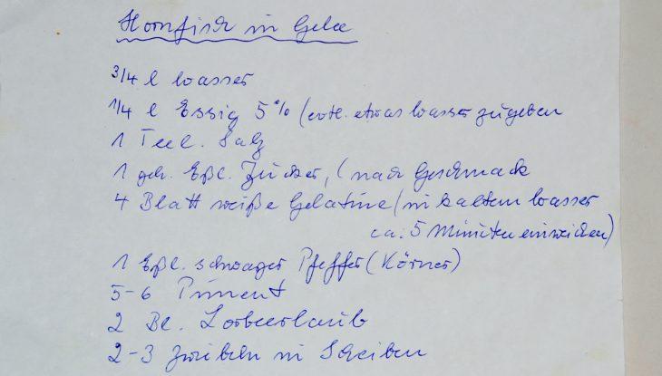 """Der Hornfisch und die """"Grätchenfrage"""""""