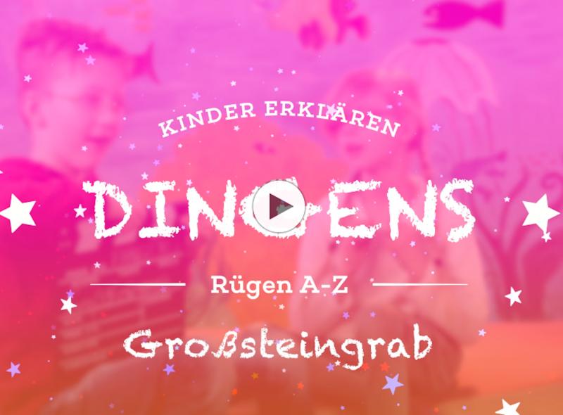 """""""Dingens – Rügen von A bis Z"""": G wie Großsteingrab"""