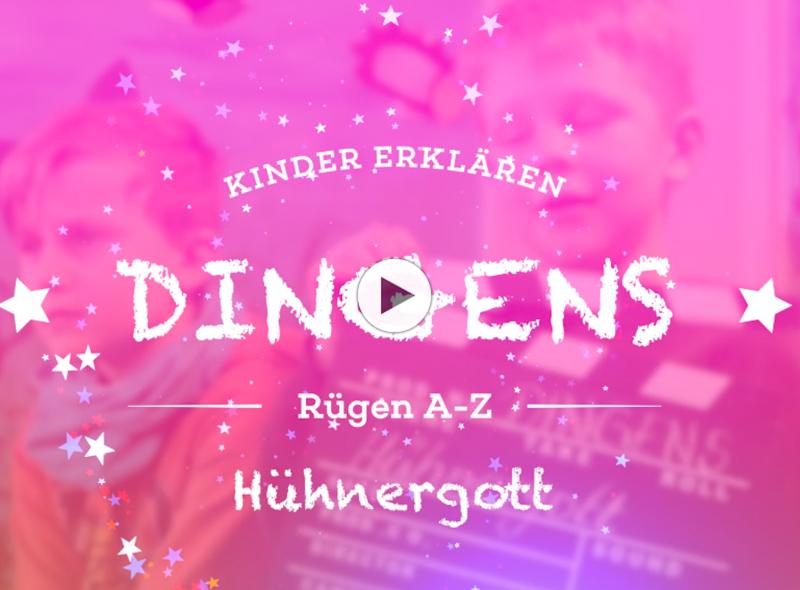 """""""Dingens – Rügen von A bis Z"""": H wie Hühnergott"""