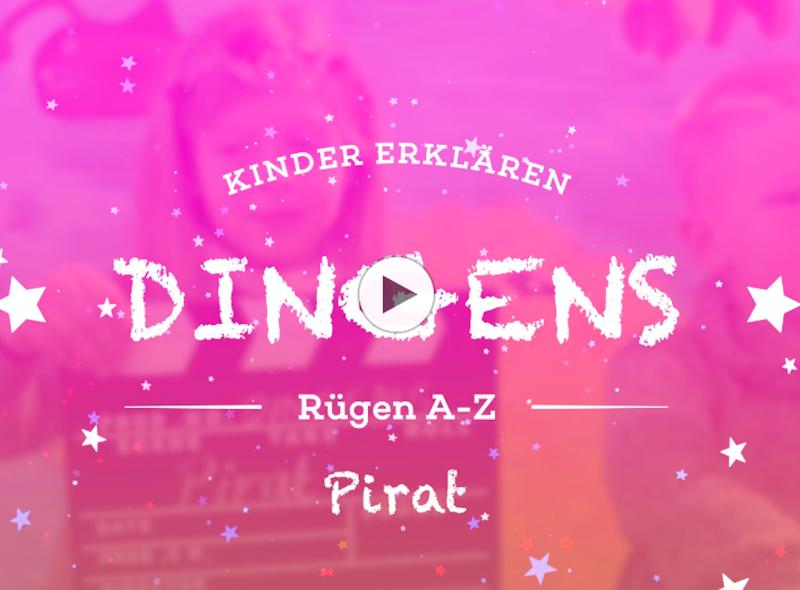 """""""Dingens – Rügen von A bis Z"""": P wie Pirat"""