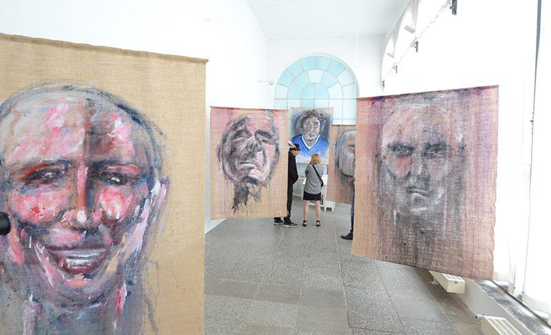 """""""Bewegung"""" – Personalausstellung von Frank Otto Sperlich in der Orangerie zu Putbus"""