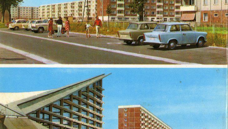 Hyparschalen-Postkartengrüße aus Oschatz