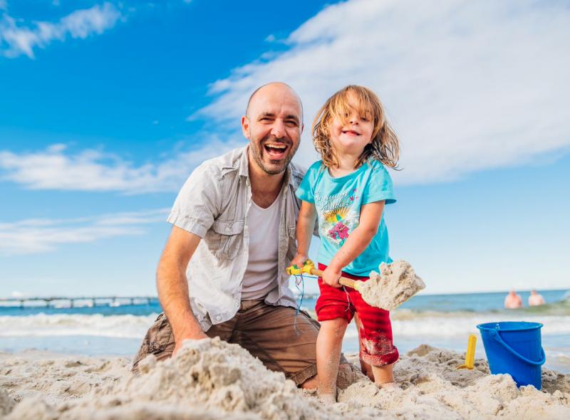 Strand und Meer – Sehnsuchtsziel und Abenteuerspielplatz!