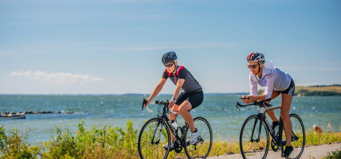 Radfahren auf Rügen im Frühling