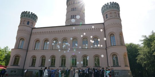 Heiraten im Jagdschloss Granitz