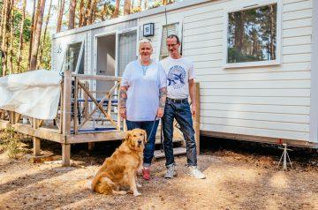 Camping auf Rügen: Interview mit Katrin und Michael